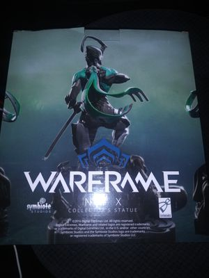 Warfame n.y.x collection statue for Sale in Sumner, WA