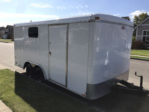 2012 Cargo Mate Blazer 8.5x16 enclosed utility trailer for Sale in Sumner, WA