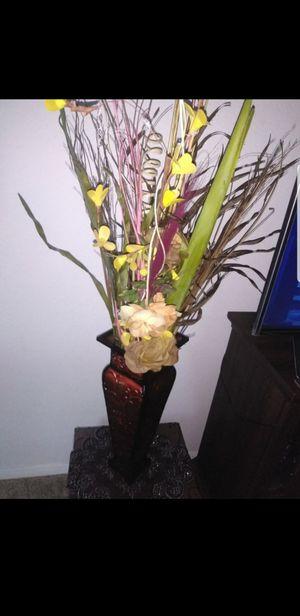 Flower and vase for Sale in Nashville, TN