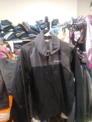 Mens Columbia Rain Jacket Full Zip Hoodie for Sale in Orlando, FL