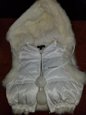 Girl's BeBe Rabbit Fur Vest for Sale in Silver Spring, MD