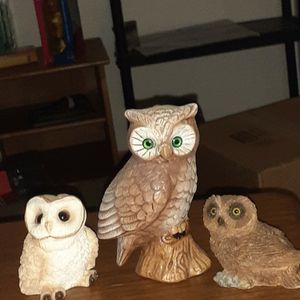 3 Pc Owl Set for Sale in Green Bay, WI