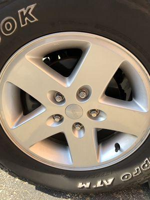 "Jeep Wrangler JK factory 17"" wheel for Sale in St. Louis, MO"