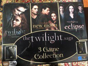 The twilight saga 3 game collection for Sale in Fairfax, VA