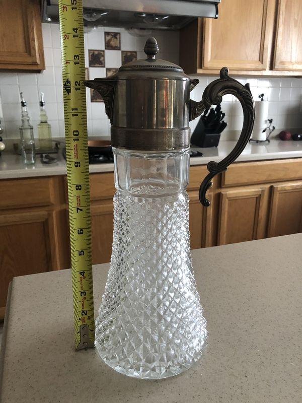 Glass pitcher, kitchen