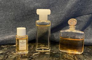 3 mini perfumes used a few times. Gio by Giorgio Armani, Elige and Fragonard Melodie for Sale in Waddell, AZ
