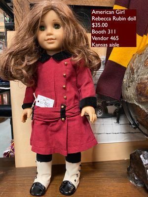 Used American Girl doll Rebecca Rubin -$35.00 for Sale in Phoenix, AZ