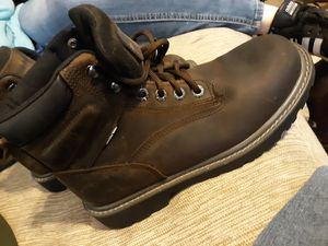 TWO BRAND NEW PAIRS WOLVERINE SAFETY TOE WORK BOOTS for Sale in East Peoria, IL