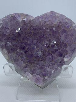 Natural Purple Amethyst Heart for Sale in La Palma,  CA