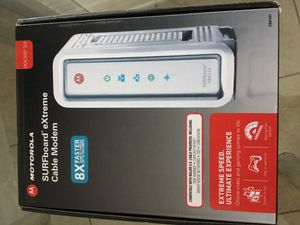 Motorola Cable Modem for Sale in Naples, FL