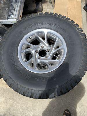 Jeep Wrangler TJ wheels for Sale in Fresno, CA
