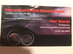 Windshield cracks and rock chips? for Sale in San Leandro, CA