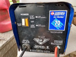 70 amp stick welder for Sale in Luther, OK