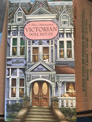 Victorian doll house pop up book for Sale in Pumpkin Center, CA