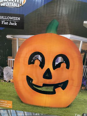 New in box Halloween pumpkin flat jack inflatable for Sale in Lake Worth, FL