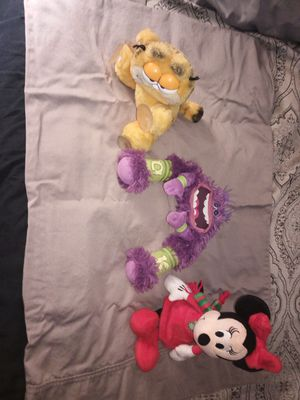 Garfield Minnie mouse old collectible toys for Sale in Port Richey, FL