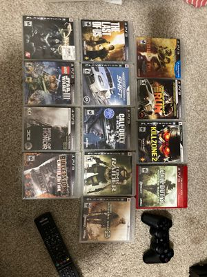 PS3 games/controller for Sale in Houston, TX