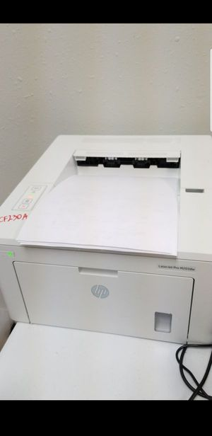 Hp laserjet pro m203dw laser printer for Sale in Auburn, WA