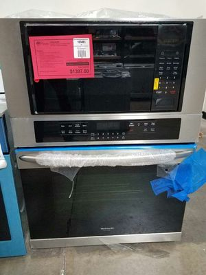 New Discounted Frigidaire Gallery Wall Oven Microwave Combination 1yr Manufacturers Warranty for Sale in Gilbert, AZ