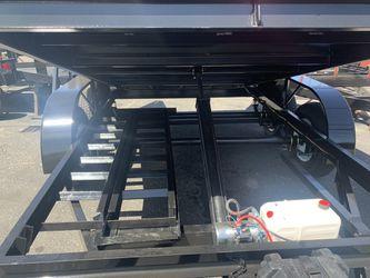 Dump trailer HD 8x12x4 Ramos tarp kit $6650 cash not finance for Sale in Santa Ana,  CA