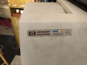 Hp designjet 750c Hewlett-Packard 750 c plotter for Sale in Pasadena, CA