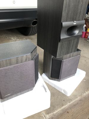 Pair of Bose 2001 speakers and sub woofer for Sale in West Mifflin, PA