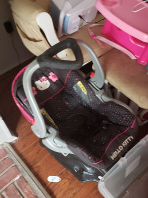 Hello kitty car seat for Sale in Leander, TX