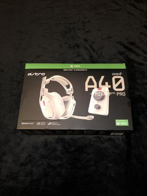 Astro A40 TR + Mixamp Pro for Sale in Hartford, CT