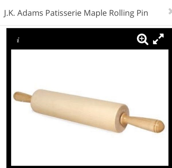 Maple Rolling Pin For Sale In San Antonio Tx Offerup