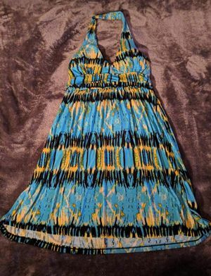 Blue & Yellow Dress Sz Small for Sale in Highland City, FL