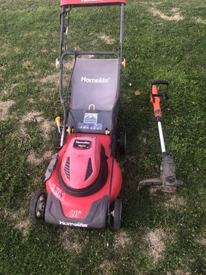 Electric lawn mower and weed eater for Sale in Sacramento, CA
