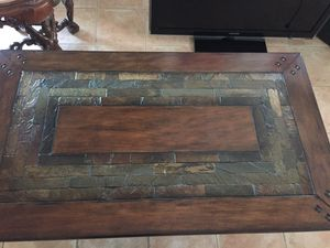 Wood and Metal Coffee Table for Sale in Oakland Park, FL