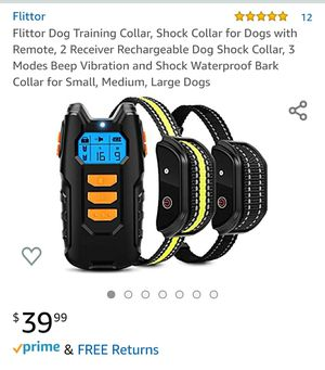Pet Training Shock Collar with Remote for Sale in Lakewood, CA