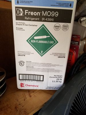 Freon M099(remplaza al R22)/Freon M099 (replaces R22) / for Sale in Houston, TX