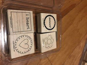Stampin' Up! Sweetheart Stamp set for Sale in Washington, DC