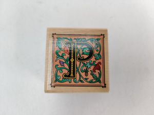 Rubber Stampede Illuminated P Letter Rubber Stamp for Sale in San Gabriel, CA