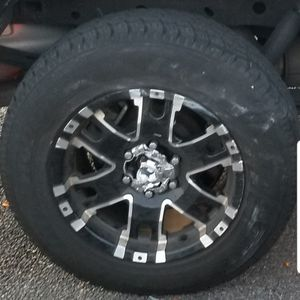 4- F150- Rims with A/T tires 265 70 r 17 4 months old for Sale in Tampa, FL