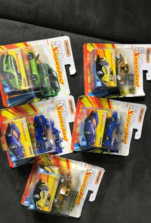 Matchbox 50 aniversary superfast 5 for $10 new for Sale in Paramount, CA