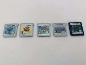 Nintendo DS and 3DS Games- $20 Each- Mario, Animal Crossing for Sale in Las Vegas, NV