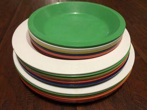 Kids children's plastic plates for Sale in Fresno, CA
