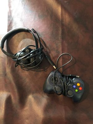 LOGITECH Gaming Controller AND LOGITECH Headset for Sale in Scottsdale, AZ