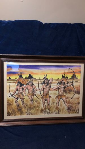 Four hunters painting for Sale in Bartlett, IL