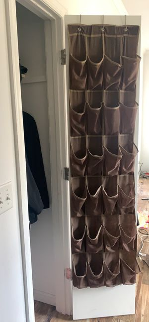 Door shoe organizer for Sale in Secaucus, NJ