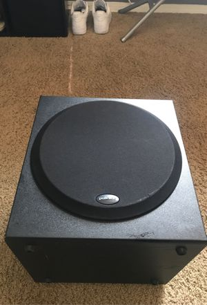 Polk audio subwoofer. Home theater for Sale in Sylmar, CA