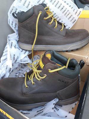 DeWalt helix Men's Size 10 steal toe boots for Sale in Cave Creek, AZ