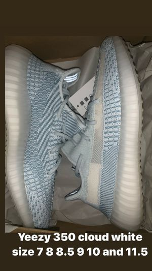 Yeezy 350 cloud white size 8 8.5 9 10 and 11.5 for Sale in The Bronx, NY