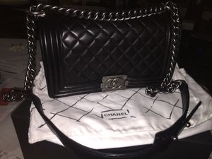Chanel le boy medium size lamb skin for Sale in New York, NY