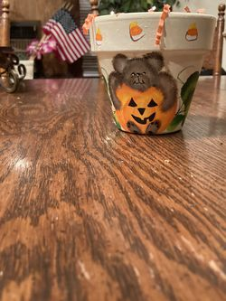 Halloween Decorative Pot for Sale in Los Angeles,  CA