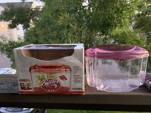 Fish Tank + Supplies for Sale in Hillsboro, OR