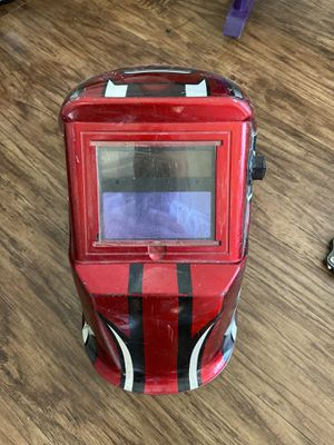Package deal! Welders helmet, caution vest and safety harness for Sale in Hollywood, FL